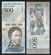 VENEZUELA 500  2016 UNC - Venezuela