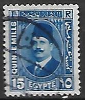 EGYPTE    -    1927 .  Y&T N° 124 Oblitéré - Egypt