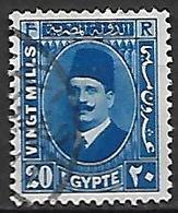 EGYPTE    -    1934 .  Y&T N° 171 Oblitéré - Used Stamps