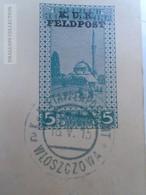 D163521  Bosnia Hercegovina  K.u.K. FELDPOST   Etappenpostamt Wloszczowa Postal Stationery Ganzsache  1915 - Bosnie-Herzegovine