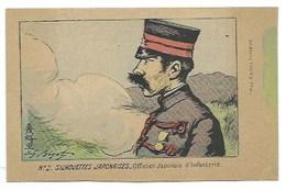 JAPON - N° 2. SILHOUETTES JAPONAISES - Officier Japonais D'Infanterie - CPA - Sonstige