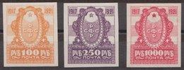 Russia 1921 Mi 162-164 MNH OG ** . - 1917-1923 République & République Soviétique