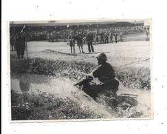 Photo MOTO Militaire Passant Un Gué ,   Casablanca, Thème Sports, - Sports
