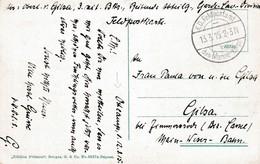 Zichtkaart (Brugge) Geschreven Te OOSTCAMP ! Per Feldpost Des Marine Korps Naar Duitsland. - WW I