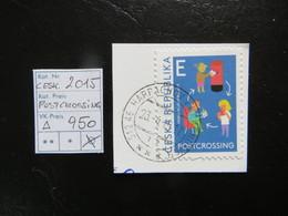 """2015  """" Postcrossing """"  Vollstempel,   LOT 950 - Tschechische Republik"""