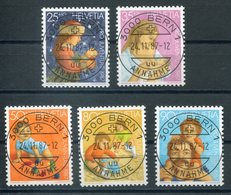 Pro Juventute Nr. 302-306 (Mi Nr. 1359-1363) Mit ET-Vollstempel - Pro Juventute