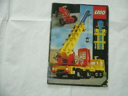 LEGO TECHNIC SOLO MANUALE ISTRUZIONI COSTRUZIONE 8860  VINTAGE - Catalogs