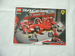 LEGO TECHNIC SOLO MANUALE ISTRUZIONI COSTRUZIONE 8375 RACERS FERRARI - Catalogs