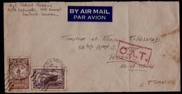 """Montreal Lettre D'un Aviateur De La """"French Air Force"""".  OAT 1945 - Covers & Documents"""