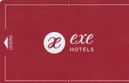 SPAIN. HOTEL KEY CARD. EXE HOTELS. (SEVILLA) 021. - Cartas De Hotels