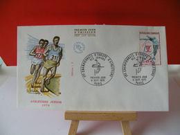 Athlétisme Des Juniors - Paris - 11.9.1970 FDC 1er Jour - - 1970-1979