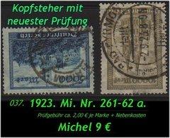 Deutsches Reich - Aus Mi. Nr. 261 - 62 - Deutschland