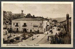 CARTOLINA - CV2651 GROTTAMINARDA (AV) Corso Vittorio Veneto, FP, Viaggiata 1947 Per Lecco, Ottime Condizioni (GC) - Avellino