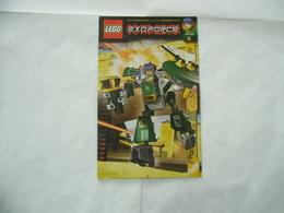 LEGO  SOLO MANUALE ISTRUZIONI COSTRUZIONE EXO FORCE Cyclone 8100 - Cataloghi
