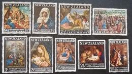 New Zealand 1961 To 1969  Christmas USED - New Zealand