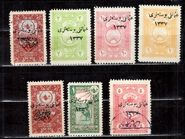 Turquie/Anatolie Sept Timbres Anciens. Six Neufs * Et Un Oblitéré. B/TB. A Saisir! - 1920-21 Anatolia