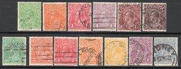 COLLECTION / LOT / Du N° 18 à 29 - COTE 2005 : 75 € - à 10 % ! ! ! - Used Stamps