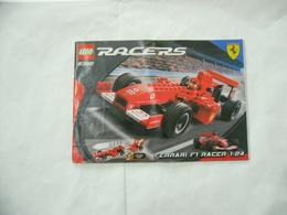 LEGO  SOLO MANUALE ISTRUZIONI COSTRUZIONE LEGO RACERS 8362. - Catalogs