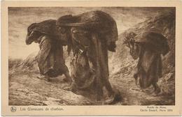 ARTISTE PEINTRE : CECILE DOUARD - MONS 1896 - LES GLANEUSES DE CHARBON - MUSEE DE MONS -1896 - Peintures & Tableaux