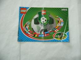 LEGO  SOLO MANUALE ISTRUZIONI COSTRUZIONE LEGO 3423. - Catalogs