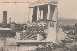 LA FABBRICA DI ASFALTI MANZO RIMASTA SULLA LAVA A TORRE ANNUNZIATA - Torre Annunziata