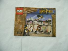 LEGO  SOLO MANUALE ISTRUZIONI COSTRUZIONE LEGO HARRY POTTER 4704. - Cataloghi
