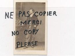 PHOTO ORIGINALE EN CDV De L'artiste Peintre Dessinateur Graveur ALEXANDRE BIDA  Décédé à Lautenbach 1895 ( Bingham Paris - Photographs