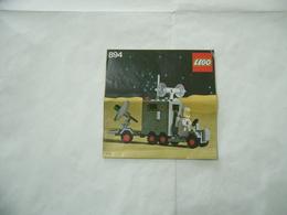 LEGO  SOLO MANUALE ISTRUZIONI COSTRUZIONE LEGO SPACE CLASSIC 894 - Cataloghi