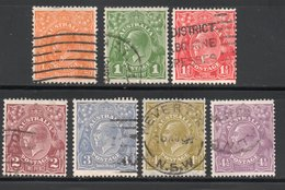 COLLECTION / LOT / N° 50 A 56 COTE 2005 : 25 € - 1913-36 George V : Heads