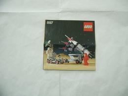 LEGO  SOLO MANUALE ISTRUZIONI COSTRUZIONE LEGO SPACE CLASSIC 897 - Cataloghi