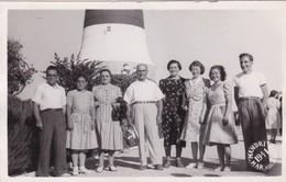 FARO LIGHTHOUSE MAR DEL PLATA ARGENTINE YEAR 1941 MANDRI PH, FAMILY GROUP - BLEUP - Argentine