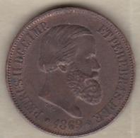 Brésil 20 Reis 1868 Pedro II KM# 474 - Brasil