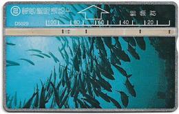 Taiwan - Bureau Of Telecomm. - LG - Fish - Fish 2/2 - 527A - 1995, 100U, Used - Taiwan (Formosa)