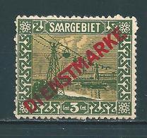 Saar MiNr. D 1 * Abart  (sab03) - Dienstmarken