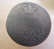 Monnaie. 15. Victoria One Shilling 1867. - 1662-1816 : Antiche Coniature Fine XVII° - Inizio XIX° S.