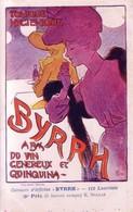 """CPA Concours D'affiches """"BYRRH"""" 3ème Prix, K.SPILLAR. Non Circulée. TB état. - Publicité"""
