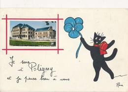 39) POLIGNY : Je Suis à Poligny ... (1960) - Poligny