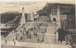 62-783 France Marseille Escalier Monumental De La Gare St-Charles - France