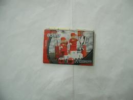 LEGO  SOLO MANUALE ISTRUZIONI COSTRUZIONE 8389 SCHUMACHER BARRICHELLO. - Cataloghi