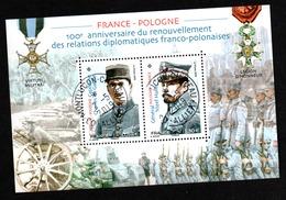 France-Pologne 2019 - Sheetlets