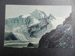 19930) LOCALITA' ALPINA DA IDENTIFICARE CON GHIACCIAIO NON VIAGGIATA 1925 CIRCA - Cartoline