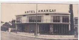 HOTEL AMANCAY CIRCA 1950 PLACE A IDENTIFIER PLACE INCONNU - BLEUP - Hotels & Restaurants