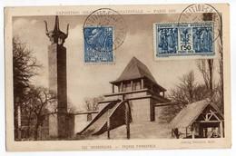 CPA    EXPOSITION COLONIALE INTERNATIONALE   PARIS 1931     MADAGASCAR   FACADE PRINCIPALE - Expositions