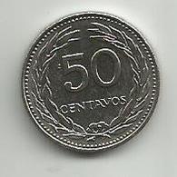 El Salvador 50 Centavos 1977. KM#140.2 - Salvador
