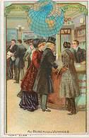 - Chromos -ref-ch729- Voyage Autour Du Monde - Au Bureau Des Voyages - - Trade Cards