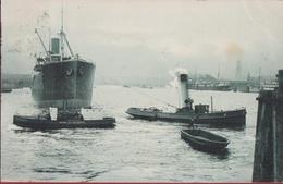 1904 Koopvaardijschip Haven Antwerpen ? Te Identificeren - Koopvaardij