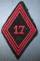 Losange Mod.1945- 17° Régiment De Génie Parachutiste - Ecussons Tissu