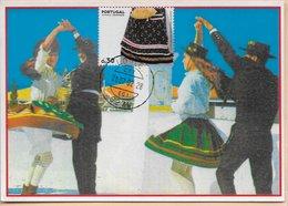 CARTE MAXIMUM - MAXICARD - MAXIMUM KARTE - MAXIMUM CARD - PORTUGAL - COSTUMES REGIONAUX - ALGARVE - Costumes