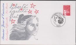 FRANCE 1 Enveloppe FDC Premier Jour N°YT 3083 - 14 07 1997 - Marianne De Luquet 14 Juillet - FDC