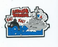 16956 - MAGNET MARINE NATIONALE  -  FREGATE LATOUCHE TREVILLE - Transportmiddelen